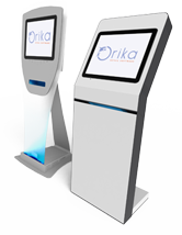 Les terminaux d'information d'Orika : O4-Terminal